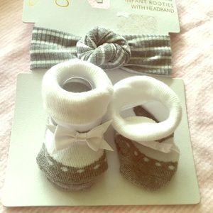 Other - Infant Booties and Headband